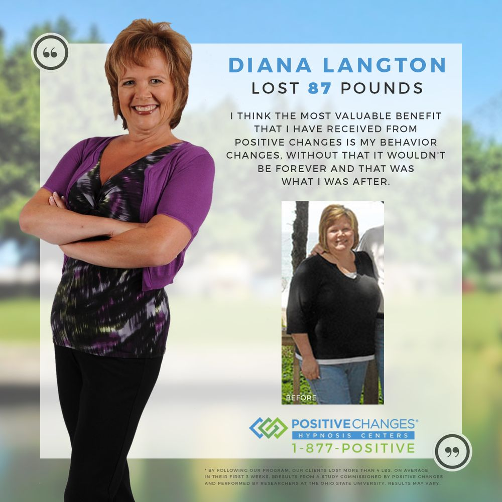 Diana From Spokane Valley Wa Lost 87 Pounds With Positive