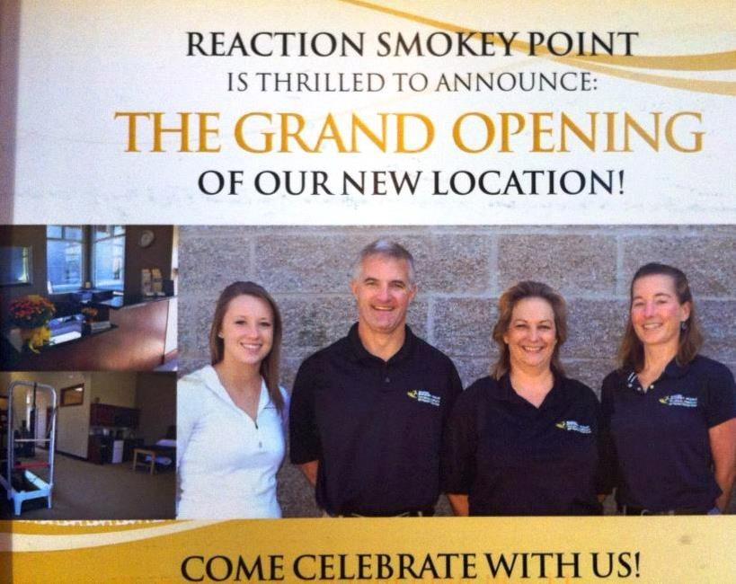 Reaction Physical Therapy Smokey Point: 17020 Twin Lakes Ave, Marysville, WA
