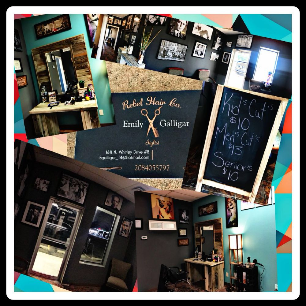 Rebel Hair: 1611 N Whitley Dr, Fruitland, ID