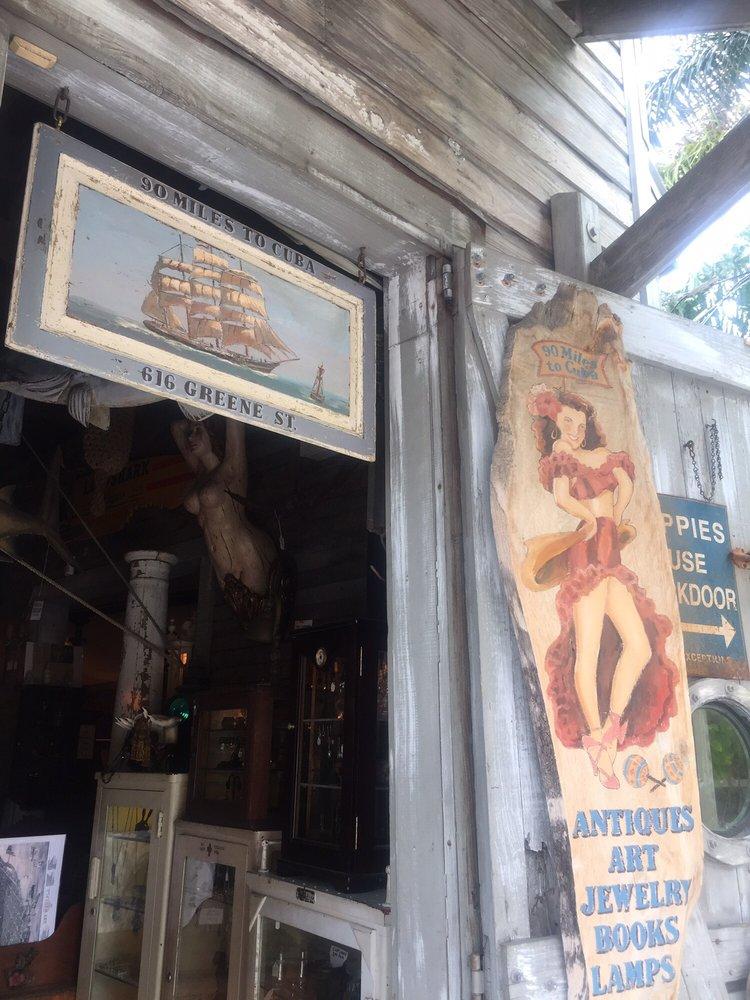 90 Miles To Cuba: 616 Greene St, Key West, FL