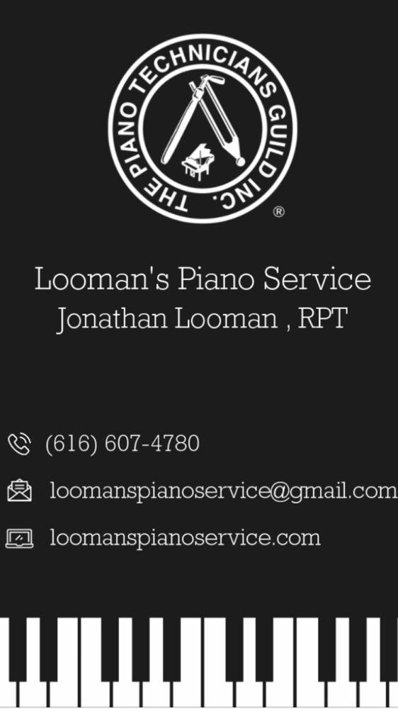 Looman's Piano Service: Allegan, MI