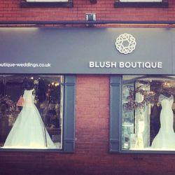 Blush boutique wedding dresses