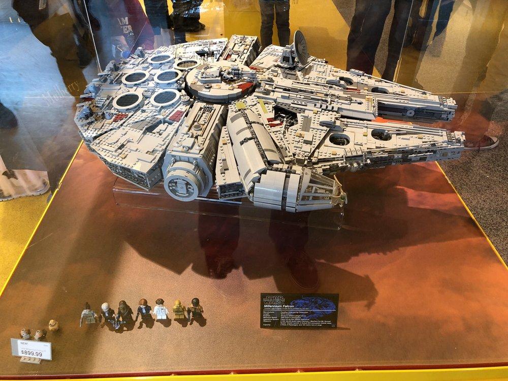 UCS Millennium Falcon $900 - Yelp