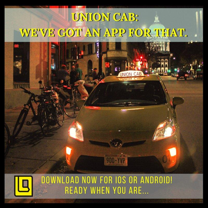 Union Cab of Madison: 2458 Pennsylvania Ave, Madison, WI