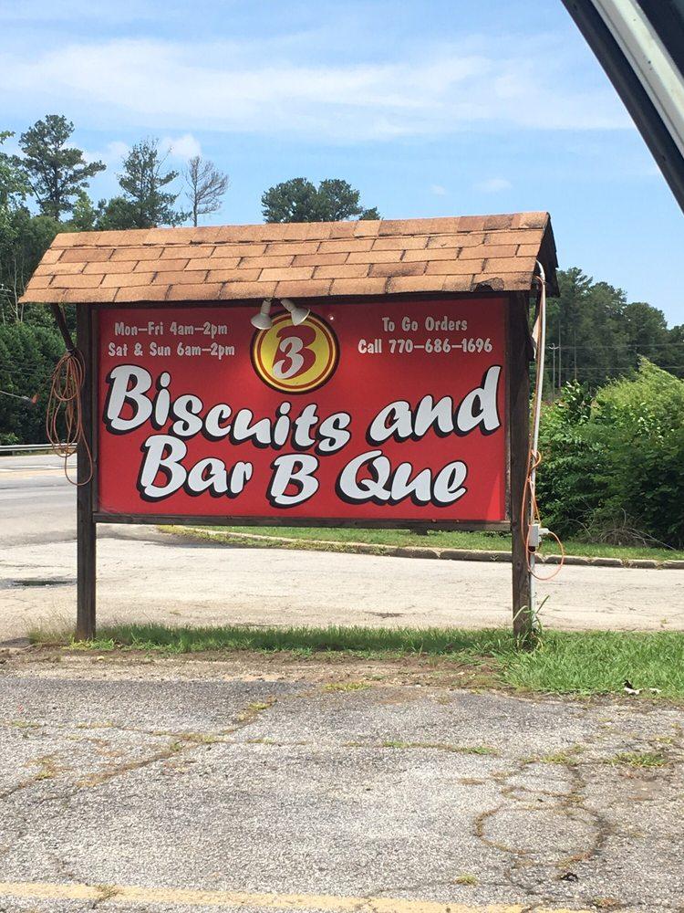 Biscuits & BBQ: 228 Highway 19 41, Hampton, GA
