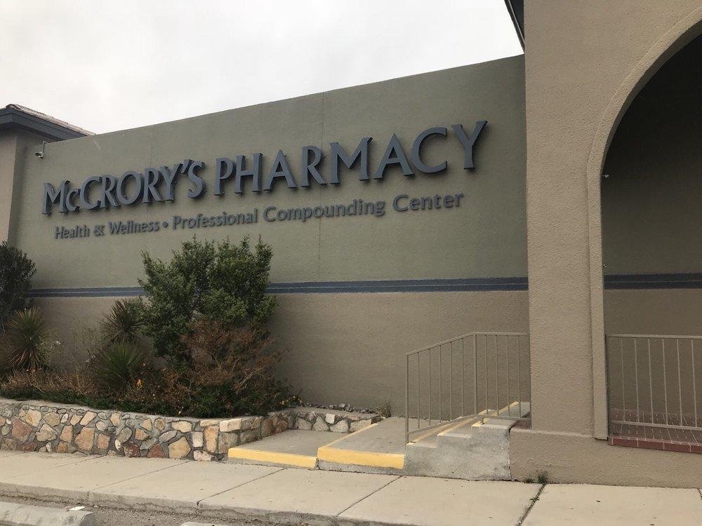 Mccrory's Pharmacy: 6151 Dew Drive, El Paso, TX