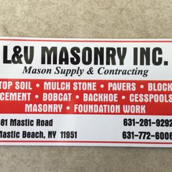 L v masonry masonryconcrete 581 mastic rd mastic beach ny photo of l v masonry mastic beach ny united states business colourmoves