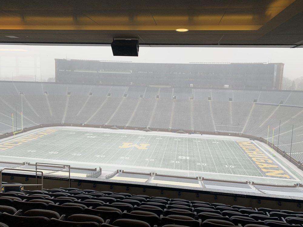 Social Spots from Michigan Stadium