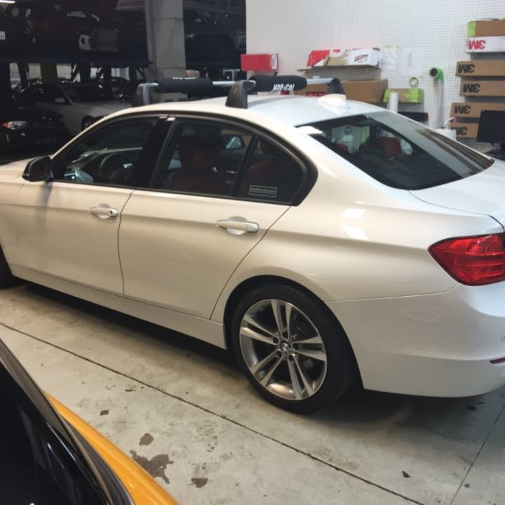 Sf Bmw 328i Before Tinted Windows With 3m Color Stable
