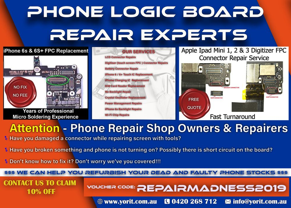 Yorit - Mobile Phone Repair - 6 Land St, Toowong, Toowong