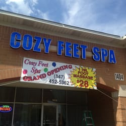 Cozy feet spa 30 reviews massage 1404 e golf rd for 30 east salon reviews