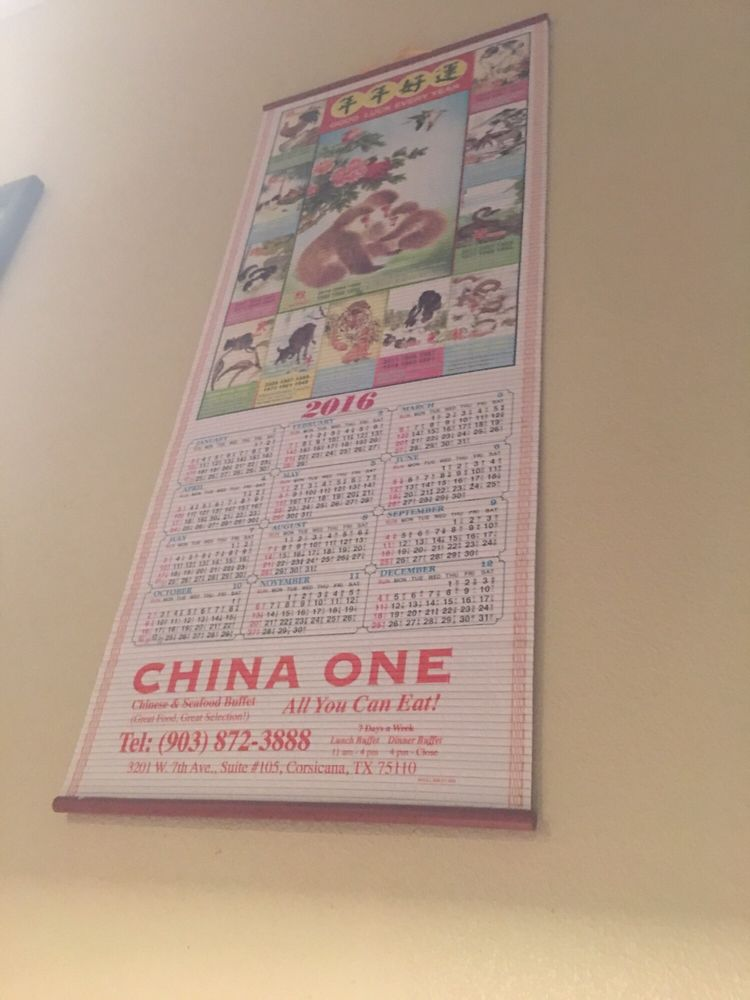 China One: 3201 W 7th Ave, Corsicana, TX