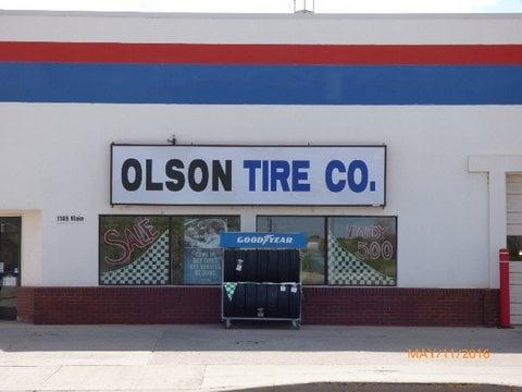 Olson Tire Co: 1108 Main St, Torrington, WY