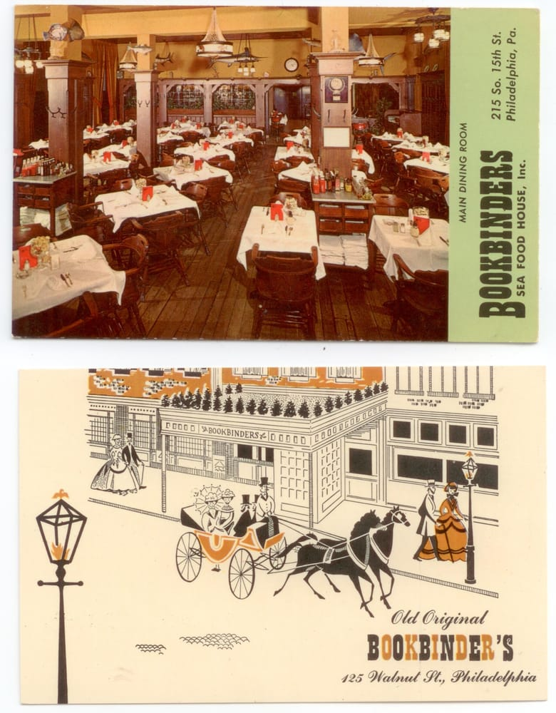 Old Bookbinders Restaurant In Philadelphia Pa