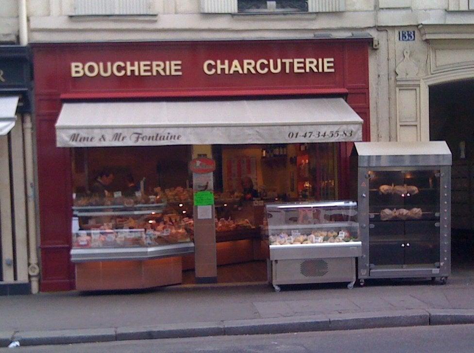 David fontaine boucheries charcuteries 133 rue s vres 7 me paris franc - Hopital laennec rue de sevres ...