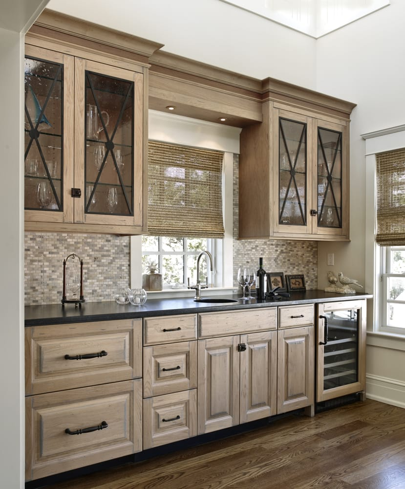 Wet Bar Ideas Gallery: CVL Designs Custom Wet Bar Featured In The Annual 7 Mile