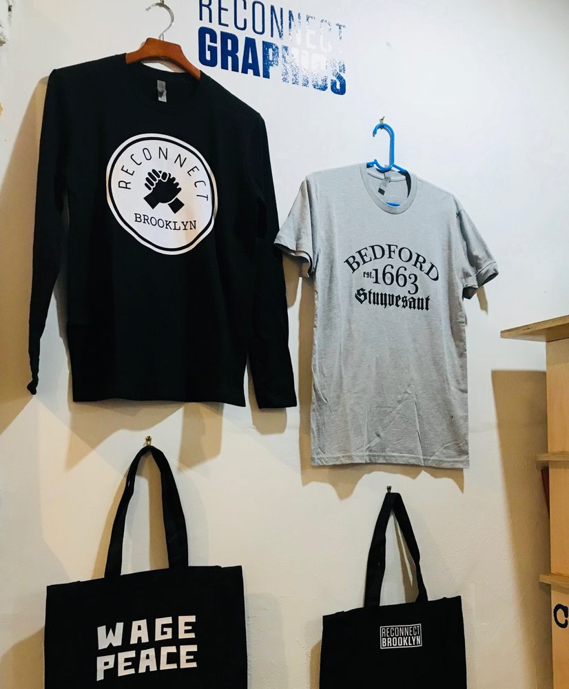 14a6d6d4e Reconnect Graphics - Screen Printing/T-Shirt Printing - 679 Lafayette Ave,  Bedford Stuyvesant, Brooklyn, NY - Phone Number - Yelp