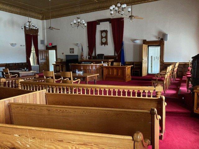 Eureka County Court House: 10 S Main St, Eureka, NV