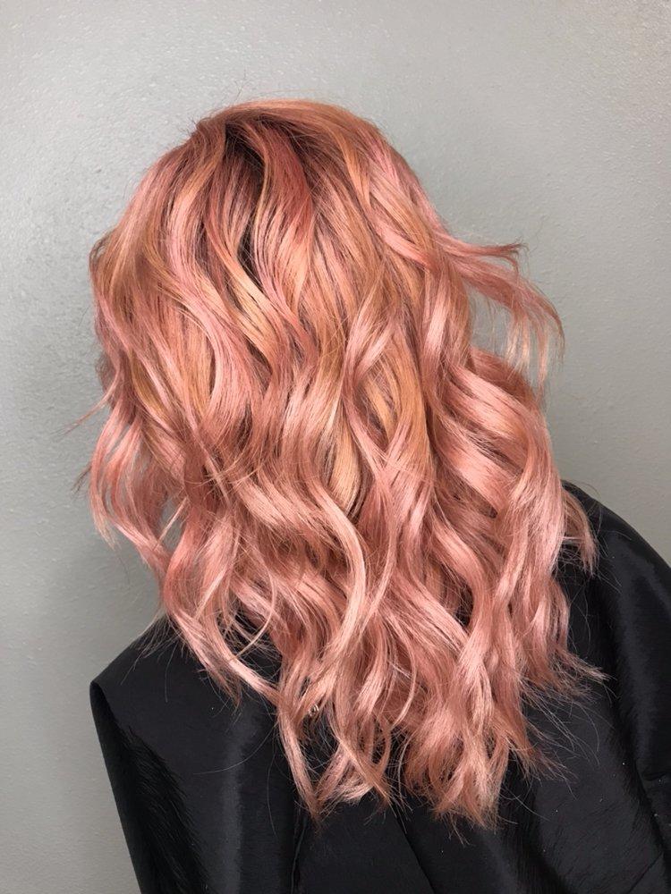 Hair By Theresa Perfectly Pink Rose Gold Hair Love Vivid Hair