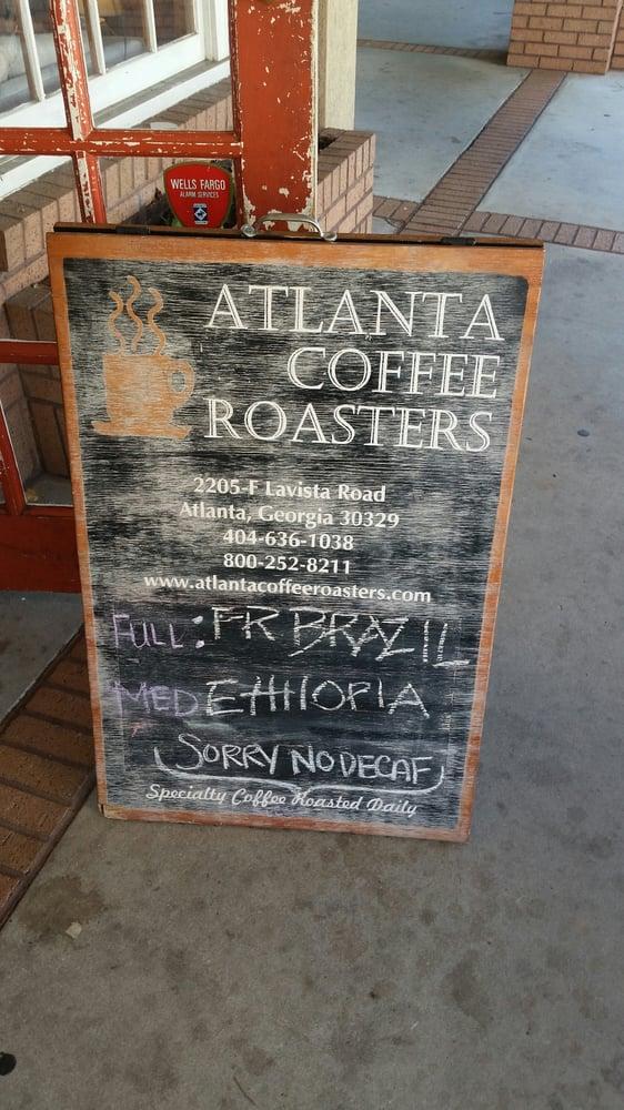 Atlanta Coffee Roasters Toco Hills