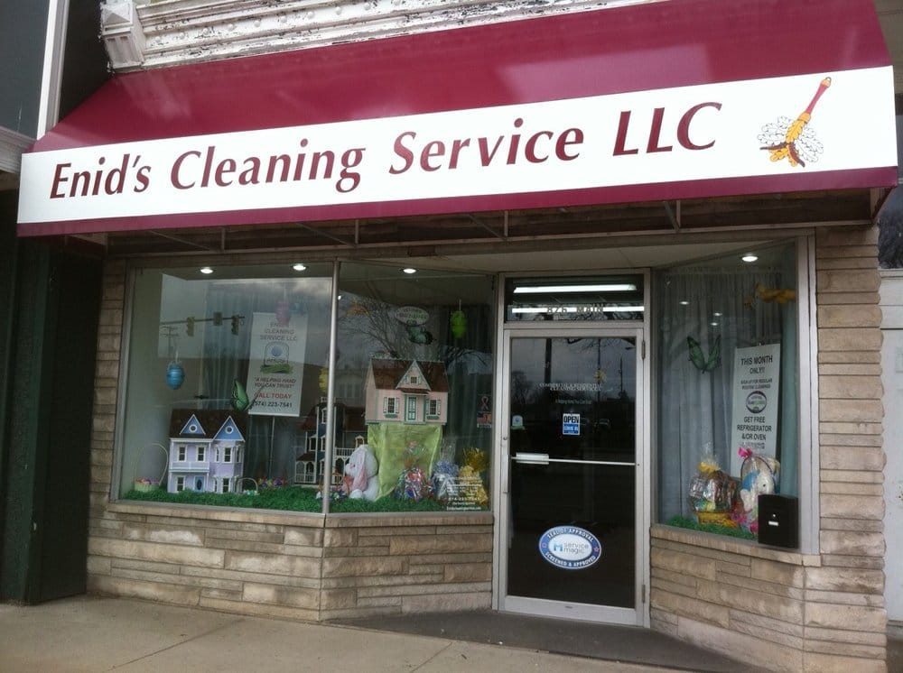 Enid's Cleaning Service: 826 Main St, Rochester, IN