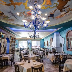 Photo Of Athena Greek Restaurant Chicago Il United States Indoor Dining Room