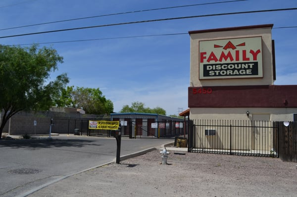 A Family Discount Storage 5450 S Country Club Rd Tucson, AZ Warehouses Self  Storage   MapQuest