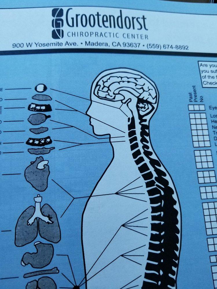 Grootendorst Chiropractic Center: 900 W Yosemite Ave, Madera, CA