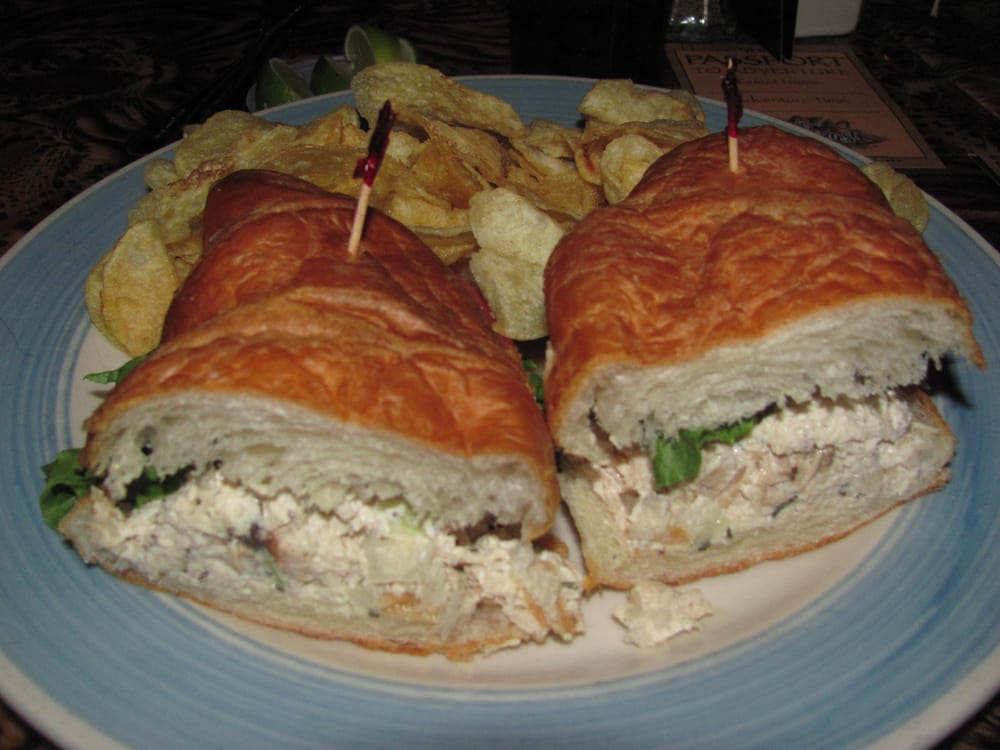 Chicken Salad Sandwich On Croissant Yelp