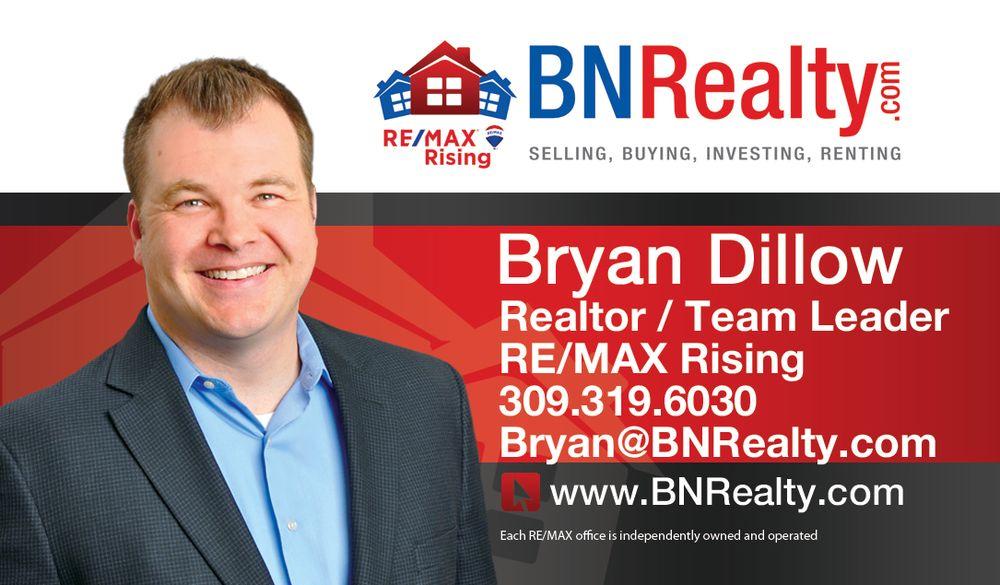 Bryan Dillow - RE/MAX Rising - BN Realty Group: 501 S Towanda Barnes Rd, Bloomington, IL