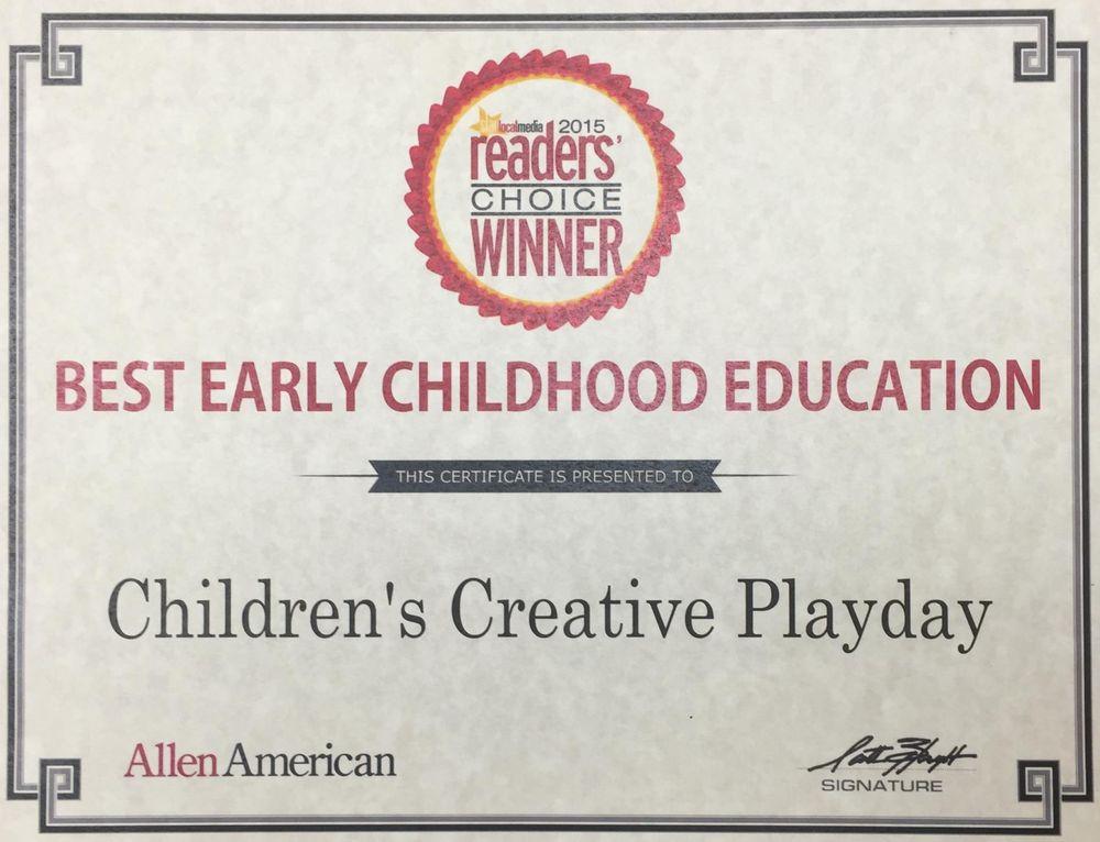Children's Creative Playday: 601 S Greenville Ave, Allen, TX