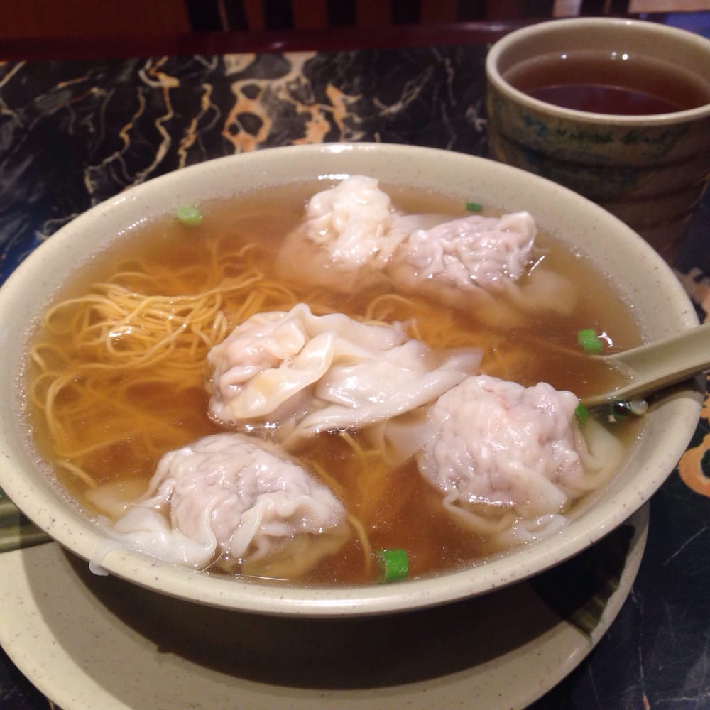 Noodles stewed with wonton and oyster sauce - Yelp