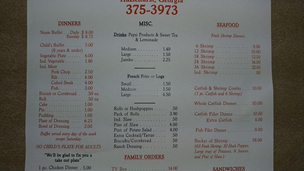 Smith's Fried Chicken: 30 W Coffee St, Hazlehurst, GA