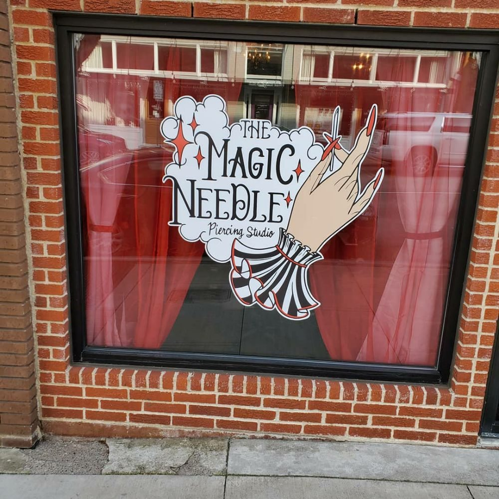 The Magic Needle Piercing Studio: 211 N Tennessee St, McKinney, TX