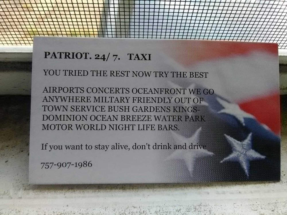 Patriot 24/7 Taxi
