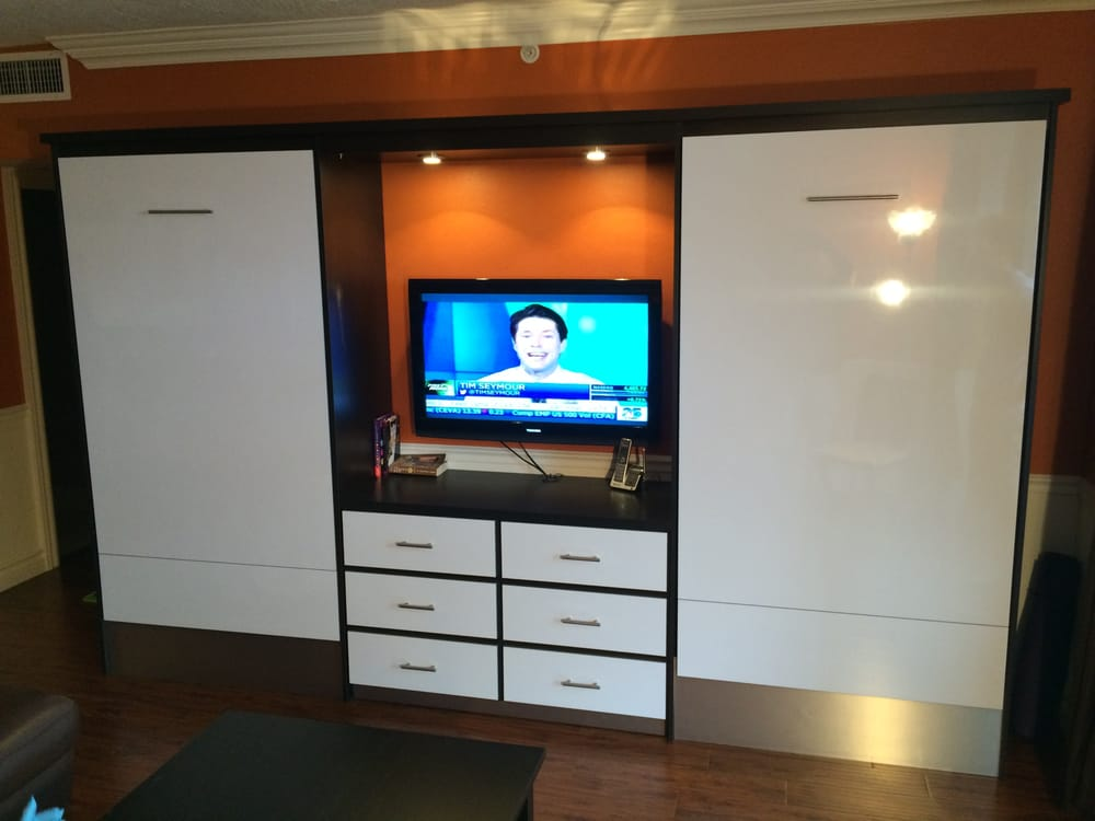 Twin Size Murphy Beds With Tv Unit And Drawers Yelp