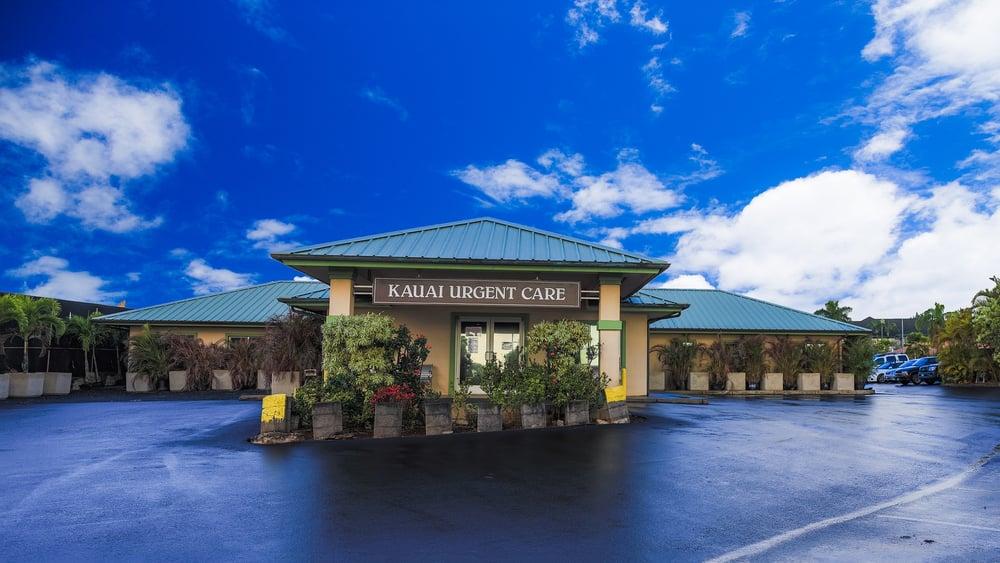 Kauai Urgent Care: 4484 Pahe'e St, Lihue, HI