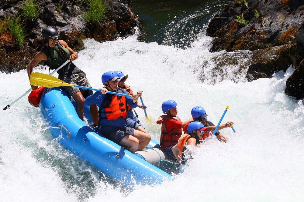 Trinity River Rafting: 31021 State Hwy 299 W, Big Flat, CA