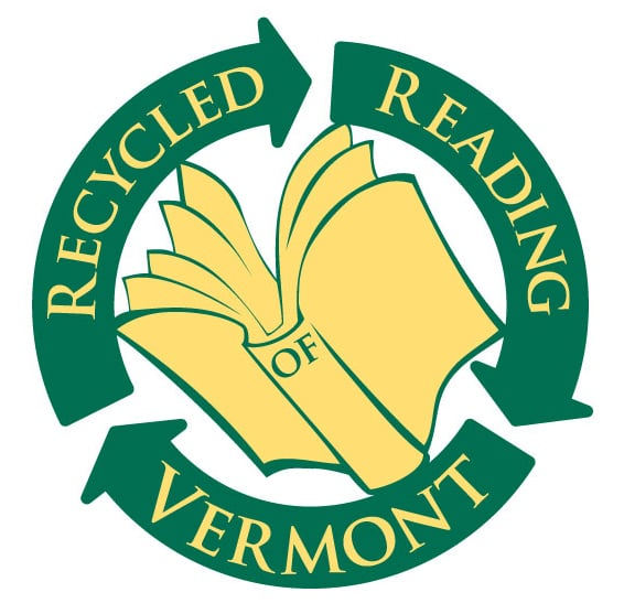 Recycled Reading of Vermont Books and Instruments: 1 Main St, Bristol, VT