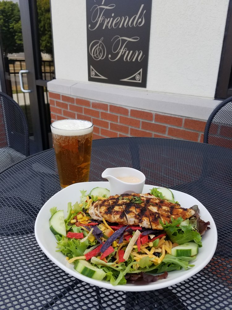 Food from The Wall Street Pub & Grille