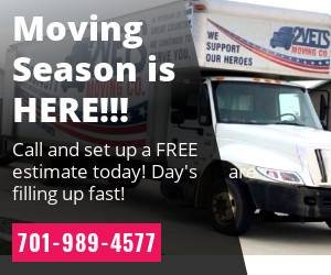 2 Vets Moving: 813 S 18th St, Bismarck, ND