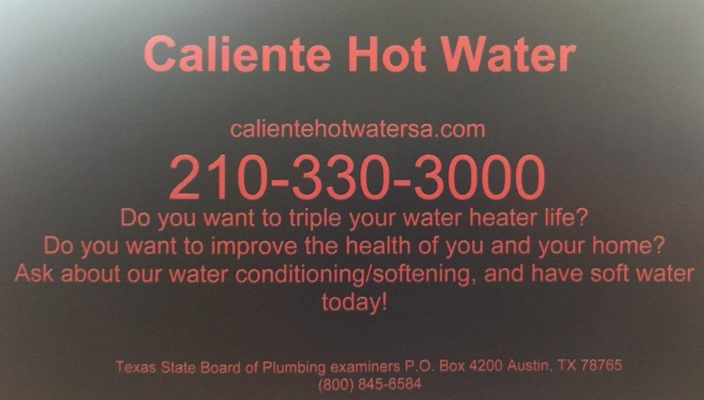 Caliente Hot Water: Boerne, TX