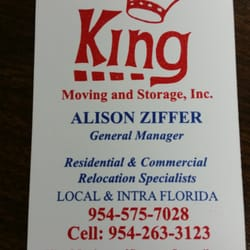 Photo Of King Moving And Storage   Coral Springs, FL, United States. This