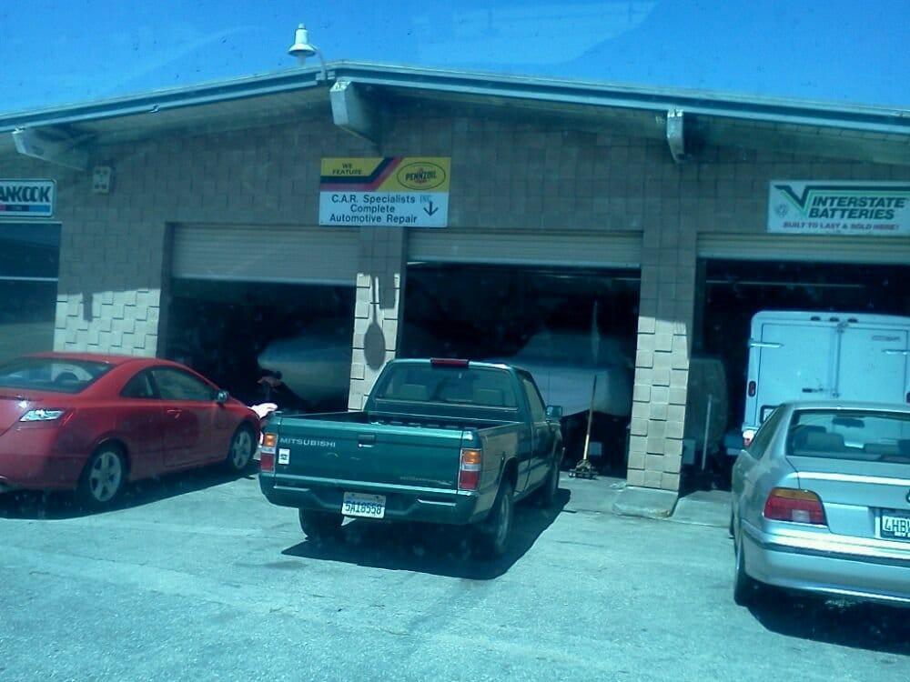 Car Specialists: 3032 Del Monte Blvd, Marina, CA
