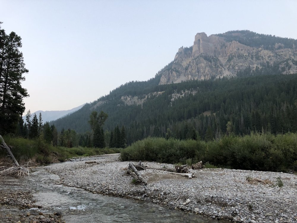 Granite Creek Falls and Campground: Forest Rd 30519, Bondurant, WY