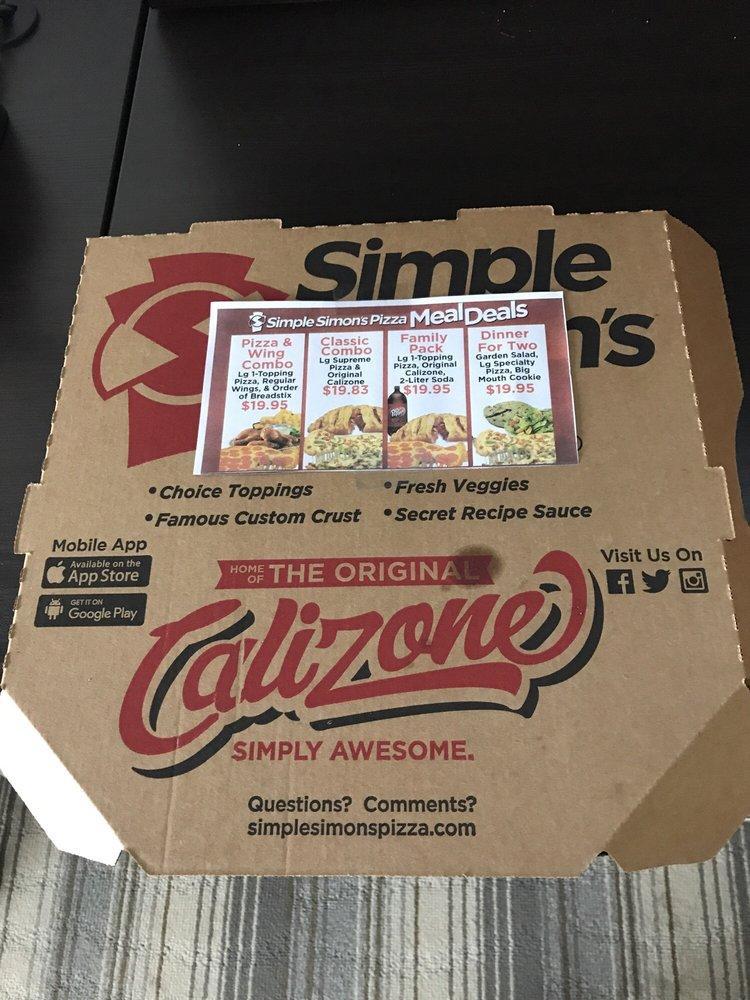 Simple Simon's Pizza: 998 US 166 Hwy, Edna, KS