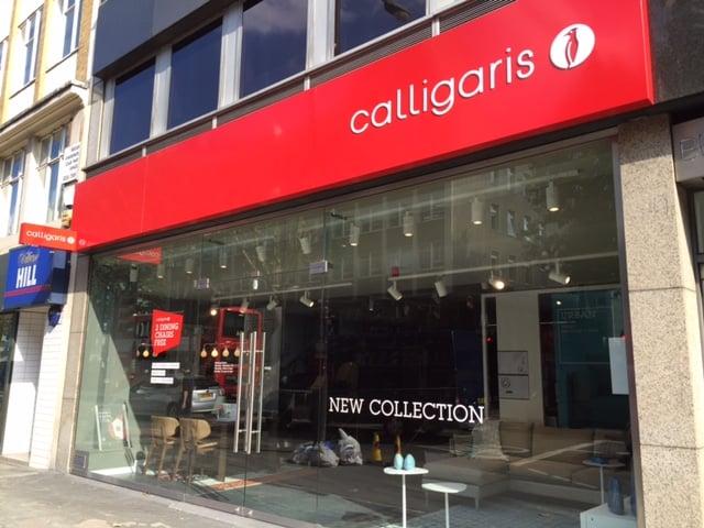 Calligaris flagship store 10 photos furniture shops for Furniture tottenham court road