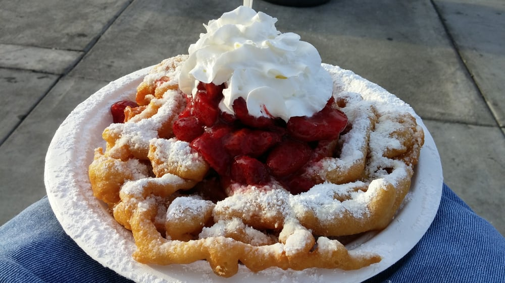 Photo Of New Orleans Sno Los Angeles Ca United States Funnel Cake