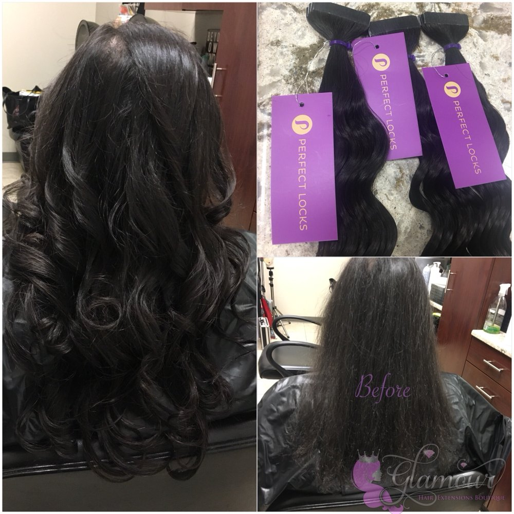 Tape In Extensions With Wavy Indian Hair Yelp