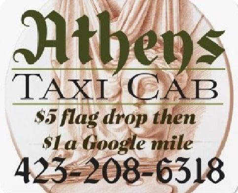 Athens Taxi Cab: Athens, TN